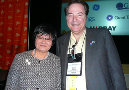 The Honourable Beverley J. Oda - Minister of International Cooperation.