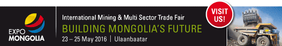 EXPO MONGOLIA 2016 - International Mining and Multi Sector Trade Fair