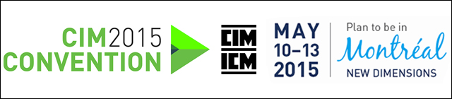 CIM Convention Montreal 2015