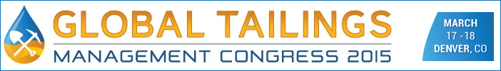 Global Tailings Management Congress 2015