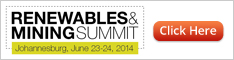 RENEWABLES & MINING SUMMIT - Johannesburg, June 23-24, 2014
